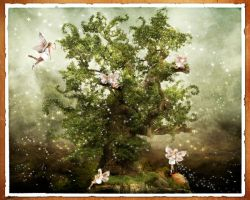 The fairy tree by oloferla