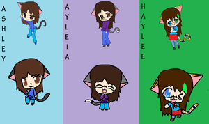 TehKittehGirls Youtube Backround by Ayleia-The-Kitty