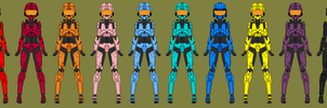 Red Vs Blue Crew by RyuRyugami
