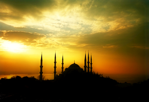 The Blue Mosque by yo-mismo