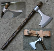 Germanic Warrior 03 - Axe by Crafty-Jack