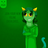 Join your cat overlords by Kiwi-ingenuity123