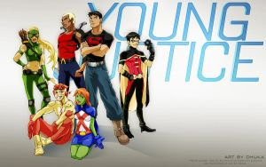 Young Justice by idaiku17