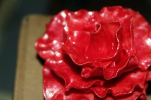 Red Hatter Flower - Red by LabyrinthFairie