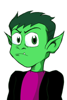 Beast Boy by Nzabob