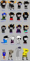 Homestuck according to Theredpaw by yuuki-takaya