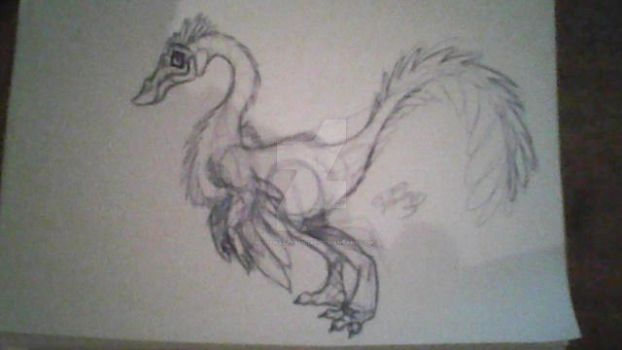 PrimalRumble - Gallimimus Concept art by PivotNazaOfficial