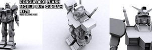 3DsMax Training - RX78 Model by conquer001
