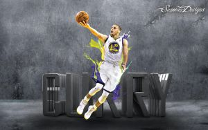 Stephen Curry by Sanoinoi