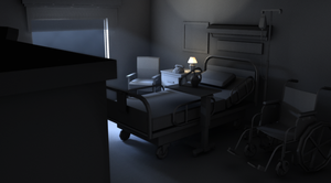 Night hospital lighting by Moonseed