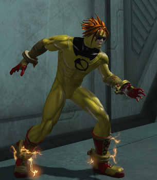 Johnny Quick (DC Universe Online) by Macgyver75