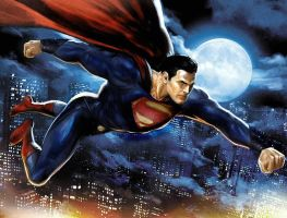 man of steel new flyby by rocketman28