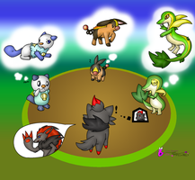 What about our evolutions? by Filly-Milly