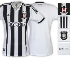 Besiktas JK Adidas Home Kit-Shirts 2013 2014 by eaglelegend