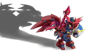 Epyon commission by Xzeit