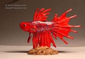 Betta fish 2 by Oksana007