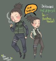 ::Shikamaru-Past n Present:: by d-clua