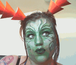 Makeup Tutorial for Scarlet Briar from Guildwars2 by Creepysfx