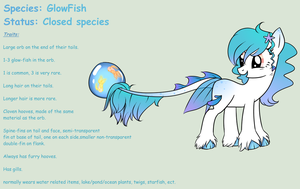 GlowFish: Closed Species. by StarDust-Adoptables