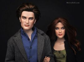 Kristen and Robert by mary-vassilieva