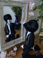 kirill in mirror by Liox
