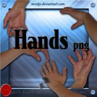 Hand png's by M10tje