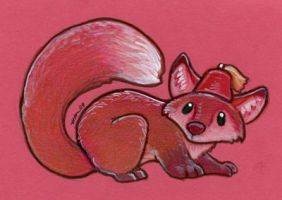 Fox With Fez by ursulav
