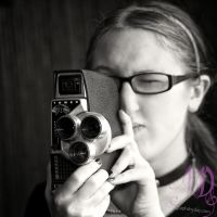 Portrait of 8mm Artist by photographs-by-day