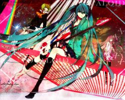 Vocaloid Girls - Rock My World by AnyaReii
