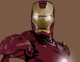 Iron man by JulesMeiresone