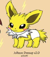 sparky the jolteon by deadf1
