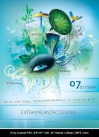 Extravaganza Flyer by Minkki2fly