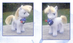 My Little Pony Prince Blueblood custom by kaizerin