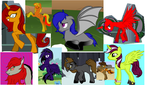 Breedable ponies by TheAgentMyers