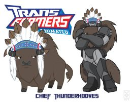 Tramsformares Chief Thunderhooves by Inspectornills