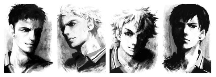 Haikyuu!! doodle by PenguinFrontier