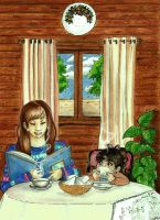 The Tea Time's Story - Contest Entry by Piuna