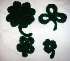 A Garden of Shamrocks by dawnschafer