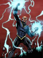JLA Black Lightning by GreeneLantern