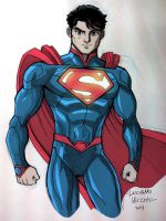 Superman Commission - Color by LucianoVecchio