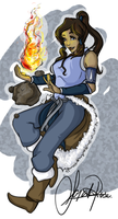 Korra by Curly-Qs