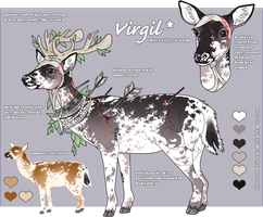 Porcelain Deer Adoptable - Auction by CATS0UP