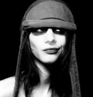 Portrait with military hat by shwtterbwg