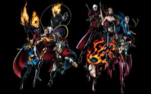 UMVC3 Supernaturals by thereanimatedunknown