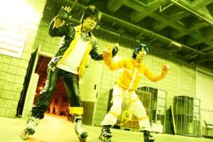 Air Gear: Cosplay: The walk by Akusesu