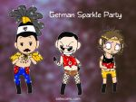 German Sparkle Party by humon