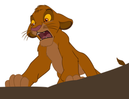 Simba - vector by CrusierPL