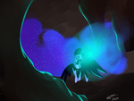 Sometimes light is needed to create darkness by Ponysilver