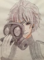 Behind the Gasmask by mikai02