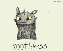 Toothless by TheLonelyMoon8